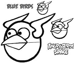 blue birds angry bird space coloring pages bulk color