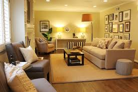 contemporary living room colors gallery wall neutral color scheme transitional space