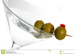 martini olive vector three olive martini stock image image of alcohol bond 392993