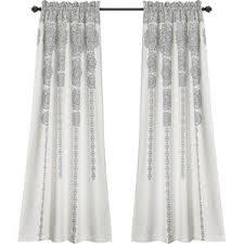 Grey And White Curtain Panels Gray And Silver Curtains U0026 Drapes Joss U0026 Main