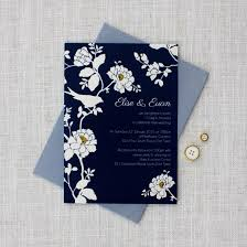 navy blue wedding invitations sle pack navy blue wedding stationery be my guest