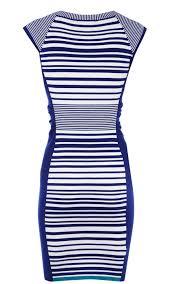 karen millen sale bags karen millen stripe knit dress blue and