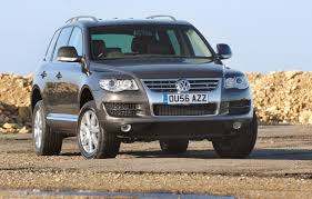 volkswagen touareg estate review 2003 2009 parkers