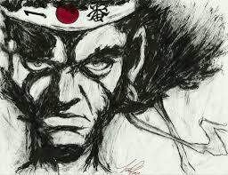 afro samurai cm afro samurai ink portrait by sprinklesprankles on deviantart