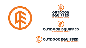 outdoor equipped brand identity