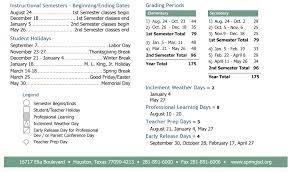 thanksgiving date 2016 dueitt middle district instructional calendar spring