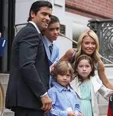 kelly ripa children pictures 2014 kelly ripa and mark consuelos kids 2014 images
