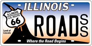 Illinois Vanity License Plates Illinois Route 66 License Plates