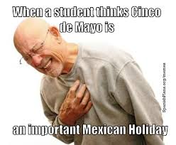 Meme Cinco De Mayo - don t say happy cinco de mayo spanishplans org