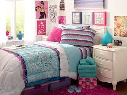 Bedroom Design Ideas For Teenage Girls 2014 Teenage Bedroom Colors With Cute White Comforter And White Windows