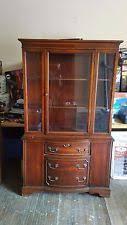 Vintage China Cabinets Mahogany China Cabinet Ebay