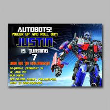 optimus prime birthday 29 images of optimus prime transformers invitation template