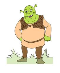 dragon shrek coloring pages kids color print