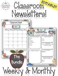 best 25 classroom newsletter template ideas on pinterest weekly
