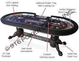 Custom Poker Tables Custom Poker Tables 916 Poker