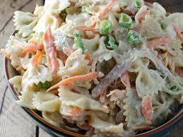 sesame u2013ginger chicken pasta salad recipe kristen stevens food