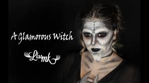 glamorous witch bruja con glamour halloween makeup tutorial