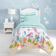 theme comforter kids room theme based comforter set ideas mermaid dreams