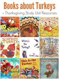 picture books about turkeys for thanksgiving unit study