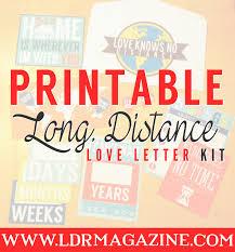 printable long distance relationship love letter kit ldr magazine
