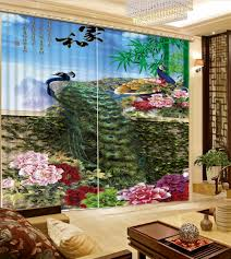 compare prices on landscape living room curtains online shopping