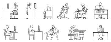 persona seduta dwg persone ufficio 1 jpg