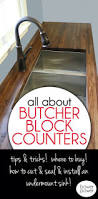 best budget kitchen remodel ideas pinterest cheap how cut seal install butcherblock countertops with kitchen smallkitchen