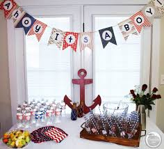 Baby Showers Decorations by Nautical Baby Shower Ideas U2014 Peachfully Chic