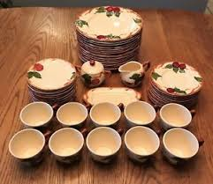 franciscan dishes franciscan apple dinnerware ebay