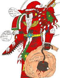 space marine santa image warhammer 40k fan group mod db
