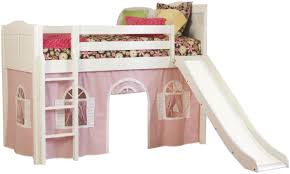 Bunk Bed With Slide For A Royally Cute Bed The Windsor Deluxe Low - Girls bunk beds with slide