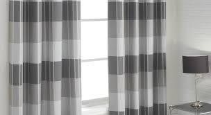 Black Ticking Curtains Curtains Curtains White Grey Curtains Inspiration Interior