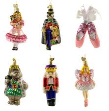 nutcracker ballet ornament set nova68