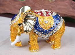 asian elephant ring holder images Big elephant crystal studded pewter jewelry trinket box handmade jpg