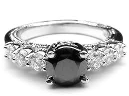 black diamond engagement rings for women black diamond engagement rings