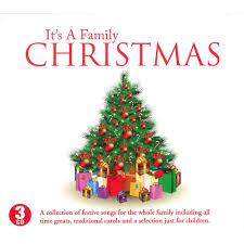 christmas cds its a family christmas 3 cd set christmas cds at the works