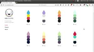 Best Color Codes Create Cool Html Color Code Combinations Or Vote For The Best Ones