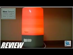 somneo sleep and wake up light review review sleepace nox smart wi fi light alarm clock youtube