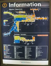 Map Montreal Canada by Pierre Elliott Trudeau International Airport Terminal Map Google