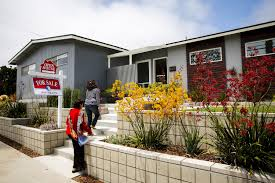 southern california home prices jump and sales fall la times