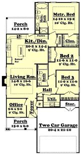 House Plans For Wide Lots Startling 9 Open Floor Plan With Gourmet Kitchen House Plans