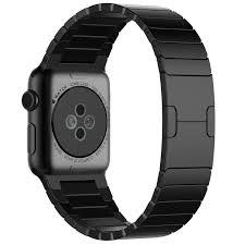 black stainless steel link bracelet images Zdtech apple watch band stainless steel link bracelet jpg