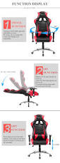 new stylish gaming chair recaro office chair racing sport chair