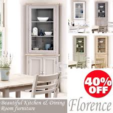 Kitchen Corner Furniture Florence Glass Corner Cabinet Glass Kitchen Dresser Colour
