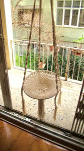 furniture captivating handmade adjustable hammock swing macrame