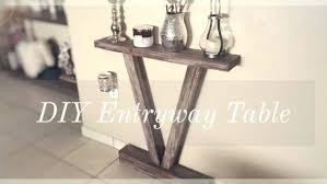diy entryway table plans farmhouse entryway table best foyer table decor ideas on console