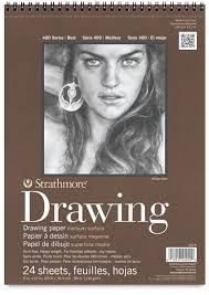 strathmore 400 series drawing paper pads blick art materials