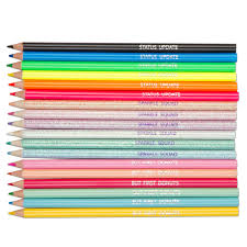colored writing paper colored pencils art drawing fashion angels colored pencils