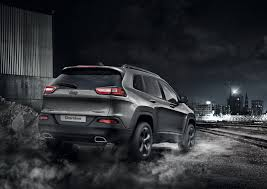 dark gray jeep cherokee jeep prices cherokee night eagle from 36 795 in the uk