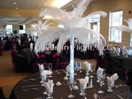Eiffel Tower Centerpiece Ideas Ostrich Feather Centerpieces Party Favors Ideas